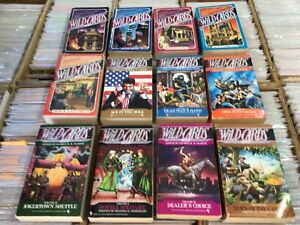 Set of Wild Cards Paperbacks #1 - #12 Edited By George R. R. Martin Bantam 1sts