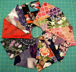 Vicky's Private Stash PRE-WASHED Asian Themed Fat Quarters Quilt Shop Only Fabs