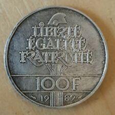 (#N0644) FRANCE Pièce de 100 Francs 1989 Droit de l'homme en argent