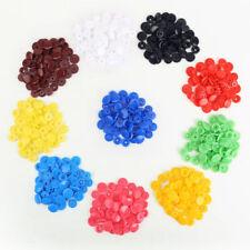 Markenlose runde Knöpfe zum Nähen aus Kunststoff