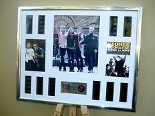 ROLLING STONES STUNNING FRAMED XL 35MM FILM CELL MONTAGE SHINE A LIGHT
