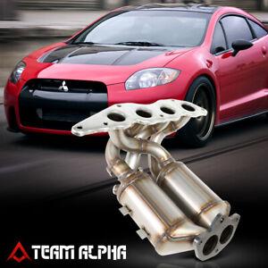 Fit 2006-2012 Mitsubishi Eclipse 2.4 Catalytic Converter Exhaust Header Manifold