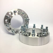 """2pc Hubcentric 8x6.5 Wheel Spacers   9/16"""" ¦ 2 Inch 50mm 8 Lug Adapter 8x165.1"""
