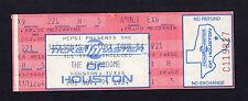 1984 Michael Jackson full concert ticket Jacksons Victory Tour Thriller Houston