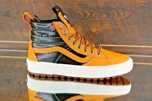Vans Sk8-Hi Mte 2.0 Dx Mens Black Leather Waterproof Primaloft Hike