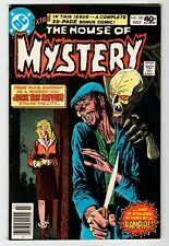 Dc The House Of Mystery #282 - Kubert Cover Vf July 1980 Vintage Comic