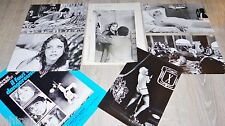 IL FAUT VIVRE DANGEREUSEMENT ! a girardot  photos presse cinema argentique 1975