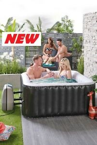 4 Person Hot Tub | Outdoor Inflatable Spa Jacuzzi All Round Jets LOW STOCK