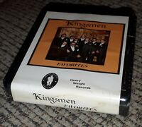 SEALED NEW The Kingsmen 8-Track Tape FAVORITES Heavy Weight Records VTG