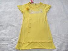 SOCCX Kleid Longshirt via ALPINA gelb Gr. 134 140 Blume NEU