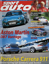 sport auto 9/99 1999 MGF Audi TT Roadster Porsche Boxster Nissan Skyline GT-R Vi
