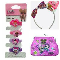 Lol Surprise Girls Hair Accessories Coin Purse Kids Stocking Fillers Xmas Gift