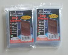 Zubehör - 200 Ultra Pro Soft Card Sleeves Hüllen