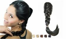 Hollywood Hair French Plait Hair Extension, Light Golden Blond 14 Inches