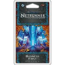 Android Netrunner - LCG Business First Data Pack NEW Fantasy Flight Games