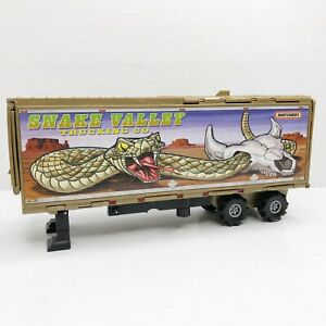 Matchbox Power Scouts SNAKE VALLEY TRANSPORTER Stomper Trailer Only Match Box