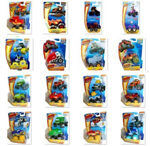 BLAZE and the Monster Machines die-cast Fisher Price 1:64 scale vehicles, new