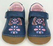 Stride Rite baby girl shoes Size 4M, Soft Motion, Kelly Navy, NIB