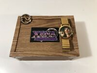 Vintage Speidel Xena The Warrior Princess Collectible Watch w/ Box, And Pin