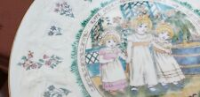 Royal Doulton Kate Greenaway Almanack Scorpio Tableware Plate 1977 Children Nice
