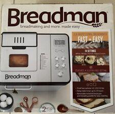 Breadman 2 lb Professional Bread Maker - Stainless Steel - BK1050S
