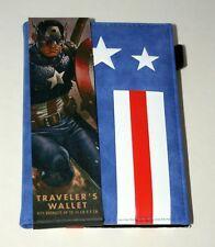 Marvel Comics Captain America Passport Traveler's Wallet ID Booklet book NEW