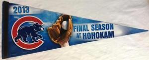 "2013 IOWA CUBS ""FINAL SEASON AT HOHOKAM"" MESA, AZ MLB PENNANT ~ NEW FULL SIZE"
