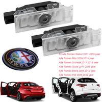 Car Door LEDs Projector Laser Light For Alfa Romeo Stelvio Giulia Brera 159 Mito