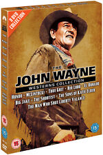 DVD:THE JOHN WAYNE WESTERNS COLLECTION - NEW Region 2 UK