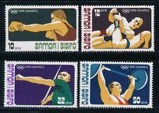 Samoa - Montreal Olympic Games MNH Set (1976)