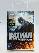 BATMAN THE DARK NIGHT RETURNS DELUXE EDITION DVD