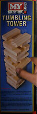 Mini Tumbling Tower Wooden Block Building Game 48 Pcs 16cm Tall Family Toy