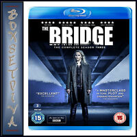 THE BRIDGE - COMPLETE SEASON 3   *BRAND NEW BLU-RAY***
