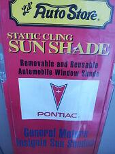 NOS! Vtg 90s Official GM PONTIAC SUN SHADE Firebird Trans Am Fiero GT G8 GXP GTO