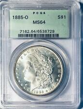 1885-O Morgan Silver Dollar - PCGS MS-64 - Certified Mint State 64