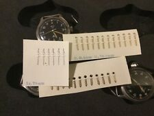 Smiths W10 Military Watch hands - new old stock - hour, minute and second