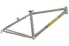 "1997 Litespeed Obed Mountain Bike Frame 14in XS 26"" Titanium Cantilever"