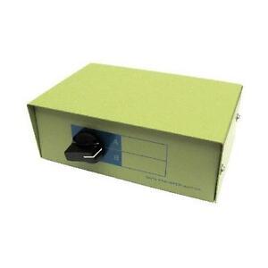 GC876 - HD15 F + PS/2 6 Pin Mini Din F 2-1/1-2 KVM SWITCH BOX