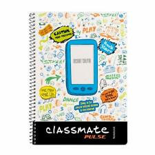Classmate Pulse Selfie Single Line 1-Subject Notebook - 297mm x 210mm, 60GSM, 18