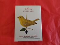 Hallmark 2019 Lady Summer Tanager The Beauty of Birds Limited Quantity Ornament