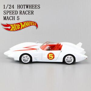 1/24 HOTWHEELS METEORO MACH 5 MENTAL DE VACIADO DE CALIDAD CAR MODEL