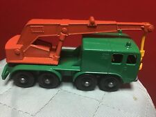 Vintage 1960s LESNEY matchbox #30 8 wheel crane in rare minty condition!!