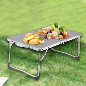 Folding Camping Tables Outdoor Garden Picnic Festival Fishing Portable BBQ Patio