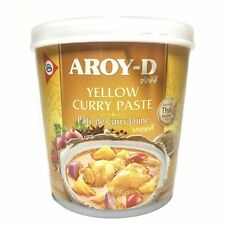 Thai Yellow Curry Paste 400g Tub by Aroy-D
