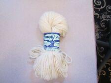 Thule garn 100% wool Sonderborg Garn Denmark 3.5oz Ecru 1 skein NEW!