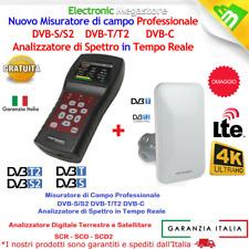 Metronic Misuratore di Campo TV/SAT (T2+S2)