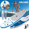"""11"""" Inflatable Stand Up Paddle Board (6 Inches Thick) Universal SUP Surfing Lot"""