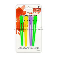 Annie Combo Clips Metal & Plastic Combination Hair Control Pins Accessory #3185