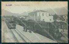Vicenza Thiene Stazione Treno cartolina QT2659