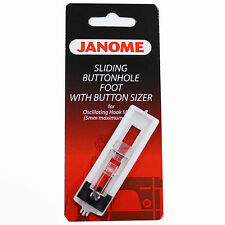 Sliding Buttonhole Foot With Button Sizer For Janome Sewing Machine #200134000